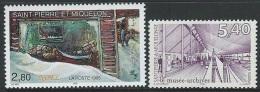 St Pierre & Miquelon  1995-9  Sc#621 & 687      MNH**  2016 Scott Value $3.50 - St.Pedro Y Miquelon