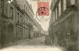 LAIGLE -61- RUE DE BECANNE ET HOTEL DE L'AIGLE D'OR - L'Aigle