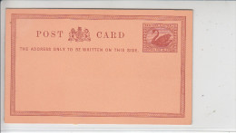 WESTERN AUSTRALIA - JOLI ENTIER - ONE HALF-PENNY - N/C - TTB - Entiers Postaux