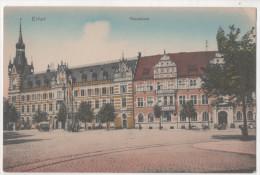 Germany Allemagne CP  ERFURT Hauptpost - Erfurt