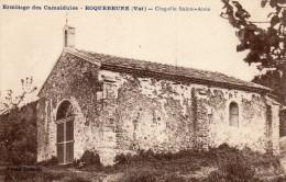 Ermitage De Camaldules - Roquebrune - Chapelle Ste. Anne - Roquebrune-sur-Argens
