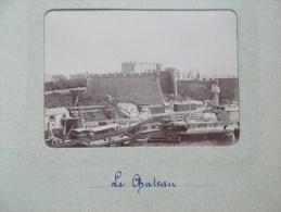 PHOTO DE BREST ( 29 BRETAGNE ) Le Château 1898/1902 - Lieux