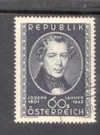 Österreich 964 Josef Lanner Used Gestempelt - 1945-60 Oblitérés