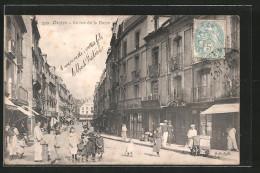 CPA Dieppe, La Rue De La Barre - Dieppe