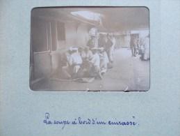 PHOTO DE BREST ( 29 BRETAGNE ) La Soupe A Bord D'un Cuirassé 1898/1902 - Lieux