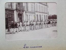 PHOTO DE BREST ( 29 BRETAGNE ) Les Marins 1898/1902 - Lieux