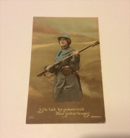 S'il Faut, Les Poilues Iront Vous Prêter La Main ! - Oorlog 1914-18