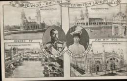 Cpa  De 1908   FRANCO.BRITISH     EXHIBITION LONDON, Multivues - London