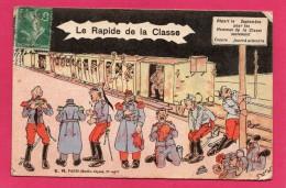 HUMORISTIQUE LE RAPIDE DE LA CLASSE, (E. R., PARIS) - Humour