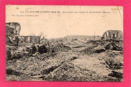 51 MARNE MASSIGES En Ruines, Animée, 1916,  (Photo-Express) - Guerre 1914-18