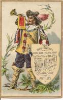 CHROMO LE RHUM CHAUVET COMPAGNIE DES ANTILLES - Trade Cards