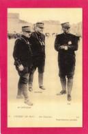 NOS GENERAUX, DE CASTELNAU, JOFFRE, PAU, GUERRE 1914, (L. L.) - Guerre 1914-18