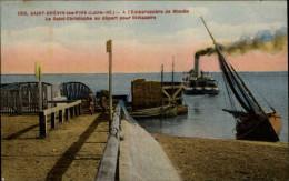 44 - SAINT-BREVIN-LES-PINS -  Bateau Vapeur Saint Christophe - Saint-Brevin-les-Pins