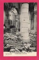 51 MARNE ST-HILAIRE-LE-GRAND, L'Eglise Aprés Les Bombardements, 1916, Guerre 1914-16, (Phototypie Baudinière, Paris) - Guerra 1914-18