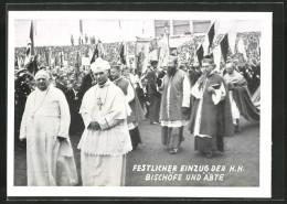 CPA Nürnberg, 70. Generalversammlung Der Katholiken Deutschlands 1931, Festlicher Einzug Der H.H. Bischöfe Et Äbte - Glaube, Religion, Kirche