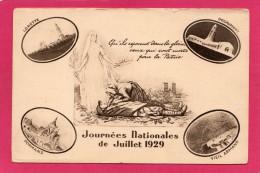 JOURNEES NATIONALES DE JUILLET 1929 - Militari