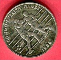 JEU DU COMMONWEATHI 1986  (KM 119 )  TTB+  45 - Tonga