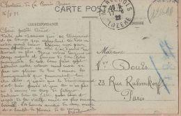 J786 Chateau De LA BORIE BASSE 16-08-1922 à DOULS Rue Ruhmkorff Paris - Pont-Viaduc De GARABIT Vallée TRUYERE - Andere Gemeenten