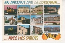 57 En Passant Par La Lorraine Avec Mes Sabots Baccarat Luneville Toul Verdun Longwy - Lorraine