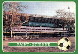 SPORT - FOOTBALL - Lot De 3 - Saint Etienne -  Stade Geoffroy Guichard - 6 Scans - Football