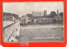 - JURANCON - Ch�teau et Pont