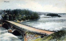 ELFKARLEÖ Schweden Gel.1908 Nach Karolyvaros Kroatien Österreich - Schweden