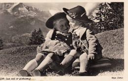 Max Stoess Karte GEH TUA NET SO GSCHAMIG Fotokarte Um 1950 - Szenen & Landschaften