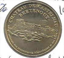 MEDAILLE TOURISTIQUE MONNAIE DE PARIS ADRIEN 46 CASTELNAU 2004