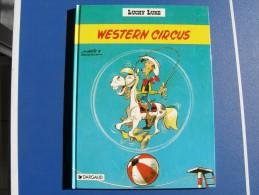 BD - LUCKY LUKE - DARGAUD EDITEUR 1992 - WESTERN CIRCUS - MORRIS / GOSCINNY - Lucky Luke