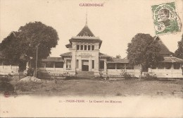 Cambodge  :    PNOM-PENH   Le Conseil Des Ministres     Réf 319 - Cambodia