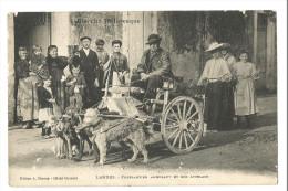 BIARRITZ , FERBLANTIER AMBULANT , ATTELAGE DE CHIEN - Biarritz