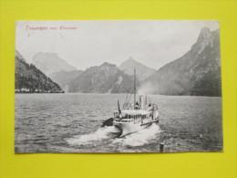 TRAUNSEE, Ebensee, Gmunden, Traun, Austria #8839# Steamer Ship - Autriche