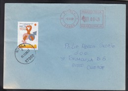 MACEDONIA, 1998, RED CROSS CS 101 AIDS / BITOLA ## - Macédoine