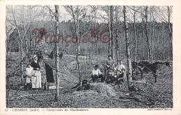 (36) Chabris - Campement De Charbonniers - 2 SCANS - Autres Communes
