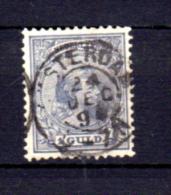 Wilhelmine, 45 Obli 24 Dec 1894, Cote 95 €, - Period 1891-1948 (Wilhelmina)