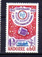 ANDORRE FRANCAIS    Neuf **   Y. Et T.   N° 173     Cote: 7,50 Euros - Neufs
