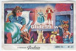 Image Chocolat Poulain - Série 73 - N° 21 - L'Horloge De Grand'Mère - Poulain