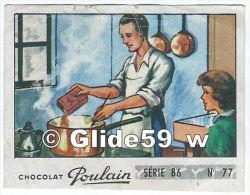 Image Chocolat Poulain - Série 86 - N° 77 - Fais Dodo, Colas - Poulain