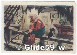 Image Biscuits - Chocolat De Beukelaer - N° 106 - Pinocchio Et Gepetto - Autorisation Walt Disney Mikey Mouse S. A. - De Beukelaer