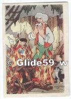 Image Biscuits - Chocolat De Beukelaer - N° 112 - Pinocchio Et Gepetto - Autorisation Walt Disney Mikey Mouse S. A. - De Beukelaer