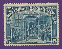België 1915. COB.nr.148. 5 FRANK Type II. Mint Hinged (*) - Nuevos