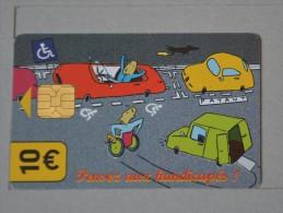 TÉLÉCARTE - 2 SCAN  -   10  EUROS  (Nº13020) - Internes