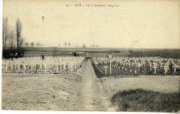 62  AIX  LE CIMETIERE ANGLAIS - France