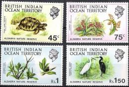 British Indian Ocean Territory 1971 Yvertn° 39-42 *** MNH  Cote 35,00 Euro Faune - Territoire Britannique De L'Océan Indien