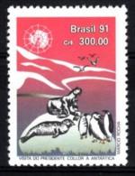 Brasilien 1991  MiNr. 2402  **/ Mnh  Staatsbesuch In Der Antarktis - Ohne Zuordnung