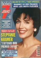 Télé 7 Jours N° 1780 - Semaine Du 9 Au 15 Juillet 1994 - Stepfanie Kramer, Michèle Mercier, Heather Locklear, Twin Peaks - 1950 - Nu