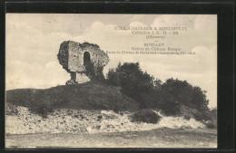 CPA Roullet, Ruines Du Chateau Rompu - Non Classés
