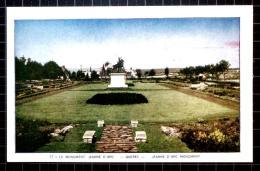 Lorenzo Audet Postcard, Le Monument Jeanne D'Arc, Quebec, Jeanne D'Arc Monument, 17 - Quebec