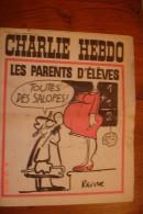 Charlie Hebdo N° 8 ,11 Janvier 71 Couverture Légèrement Salie. - Humour