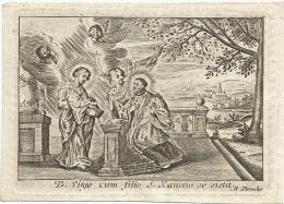 183.HENRICUS HERMANNUS SCHOUTERDEN - OUT PASTOOR VAN HALEN - HASSELT 1824 (bijna 69 Jaar) - Imágenes Religiosas